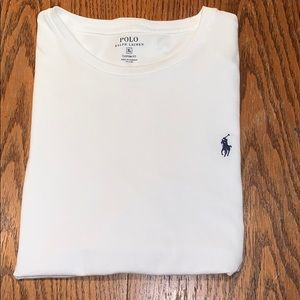 XL White Polo T-Shirt